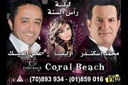 NYE with Mohammad Iskandar, Ali El Deek & Olivia in Coral Beach