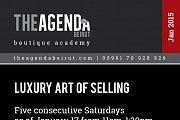 Luxury Art of Selling a workshop by Cynthia Tabcharani