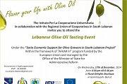 Lebanese Olive Oil Tasting Event