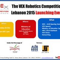The Vex Robotics Competition Lebanon 2015 Launching Event Lebtivity