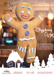 """Gingerbread Artist"" Christmas Exhibition by Exode"