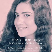 Maya Hobeika in Concert at the Rose House