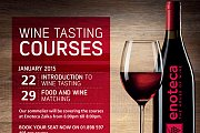 Wine Tasting Courses at Enoteca