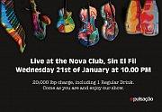 Pulsação live at Nova Club