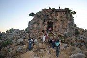 Visit of Faqra temples site and photo stop at the Natural Bridge