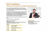 "PwC's Academy ""Financial Analysis of Company Performance"" workshop"