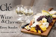 Wine and Cheese Sundays at Cle Cafe Bar