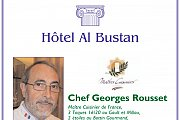 French Gastronomy with Chef Georges Rousset at Hotel Al-Bustan