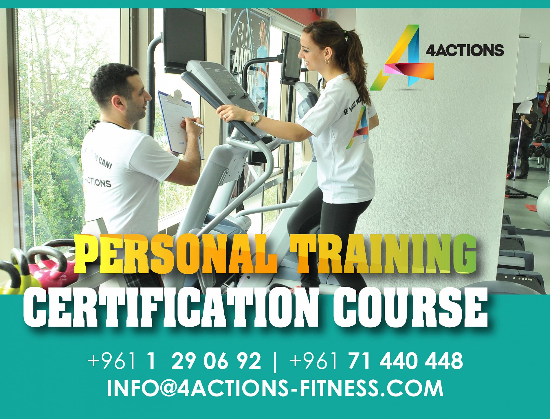Ifpa Personal Training Course Certification By 4 Actions Academy