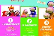 La naissance: Spectacle de marionnettes françaises Dim Dam Doum n 2 (musical)