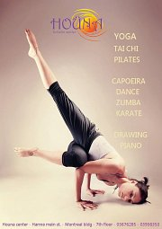Yoga Classes at Houna Center
