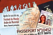 Passport N 10452 - Theater Play with Betty Taoutel
