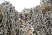 In the Wilderness of Jabal el Qaraqif & Tartij with Esprit Nomade