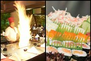 Open Sushi Buffet at Benihana