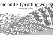 Rhino 3D and 3D printing workshop with Fab Lab