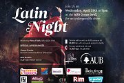 2015 Annual AUB Latin Night