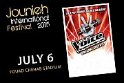 The Voice 2015 Tour in Lebanon! - Part of Jounieh International Festival 2015