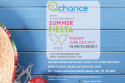CHANCE party at WHITE Beirut - Fundraising for Children with Cancer 2015