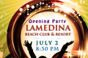 Lamedina Opening Party with DJ Ralf & Live Jounieh Fireworks Show