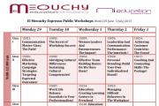 El Meouchy Espresso Workshops and Morgan International Education (MI Education)