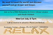 FREE Relaxation & Stress release session