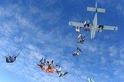 Tandem Sky Diving Trip to Jordan organized by Blue Carrot Adventures