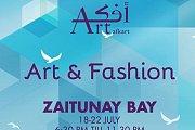 Afkart - Art & Fashion Exhibition at Zaitunay Bay