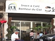 Opening Bonheur du Ciel Snack & Café - 1st Free Restaurant for the poor in Lebanon