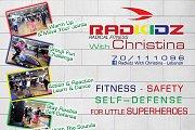 Radkidz Friday Fitness @ 180 degree Fitness and Spa Jnah