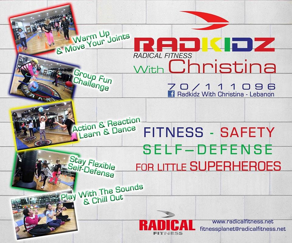 Radkidz friday fitness 180 degree fitness and spa jnah for 180 degrees salon dubai