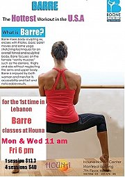 Barre - The hottest workout in the USA