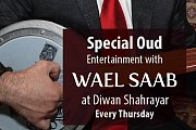 Oud Night at Diwan Shahrayar with Wael Saab