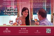 NEW YEAR'S EVE 2015 at Le Royal Hotel