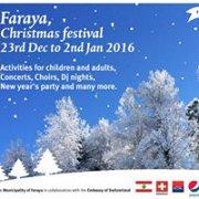 Faraya Christmas Festival 2015 & NYE 2016
