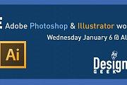 Adobe Photoshop and Illustrator workshop by Design Geek