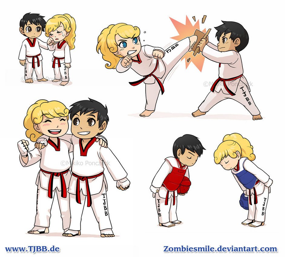 Taekwondo kids wallpaper