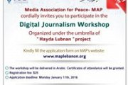 Digital Journalism Workshop