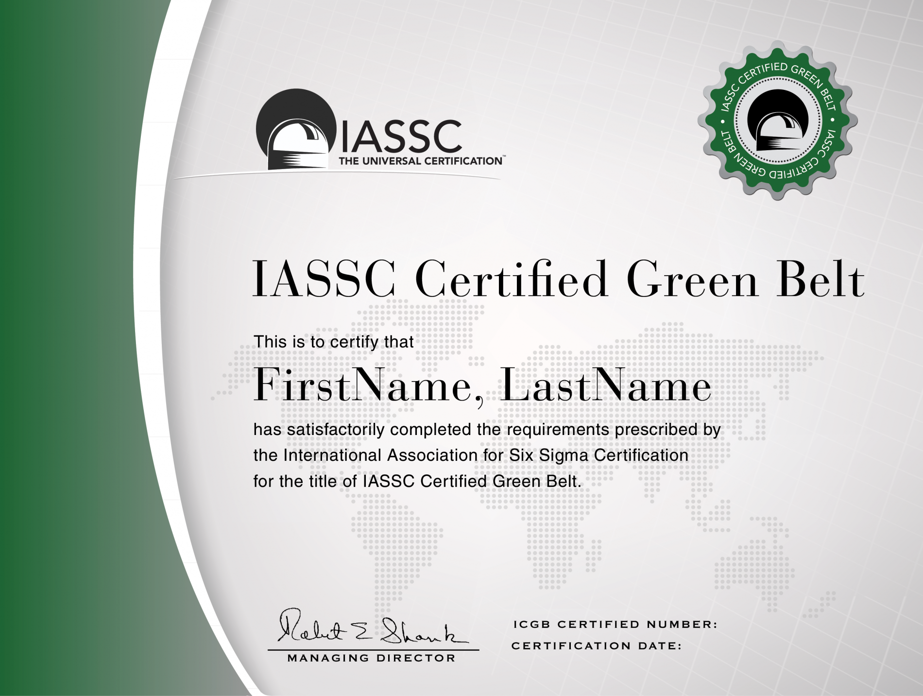 Lean Six Sigma Green Belt Training And Certification Lebtivity
