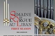 Semaine de l'Orgue au Liban - Lebanese Pipe Organ Week - SOL 2016