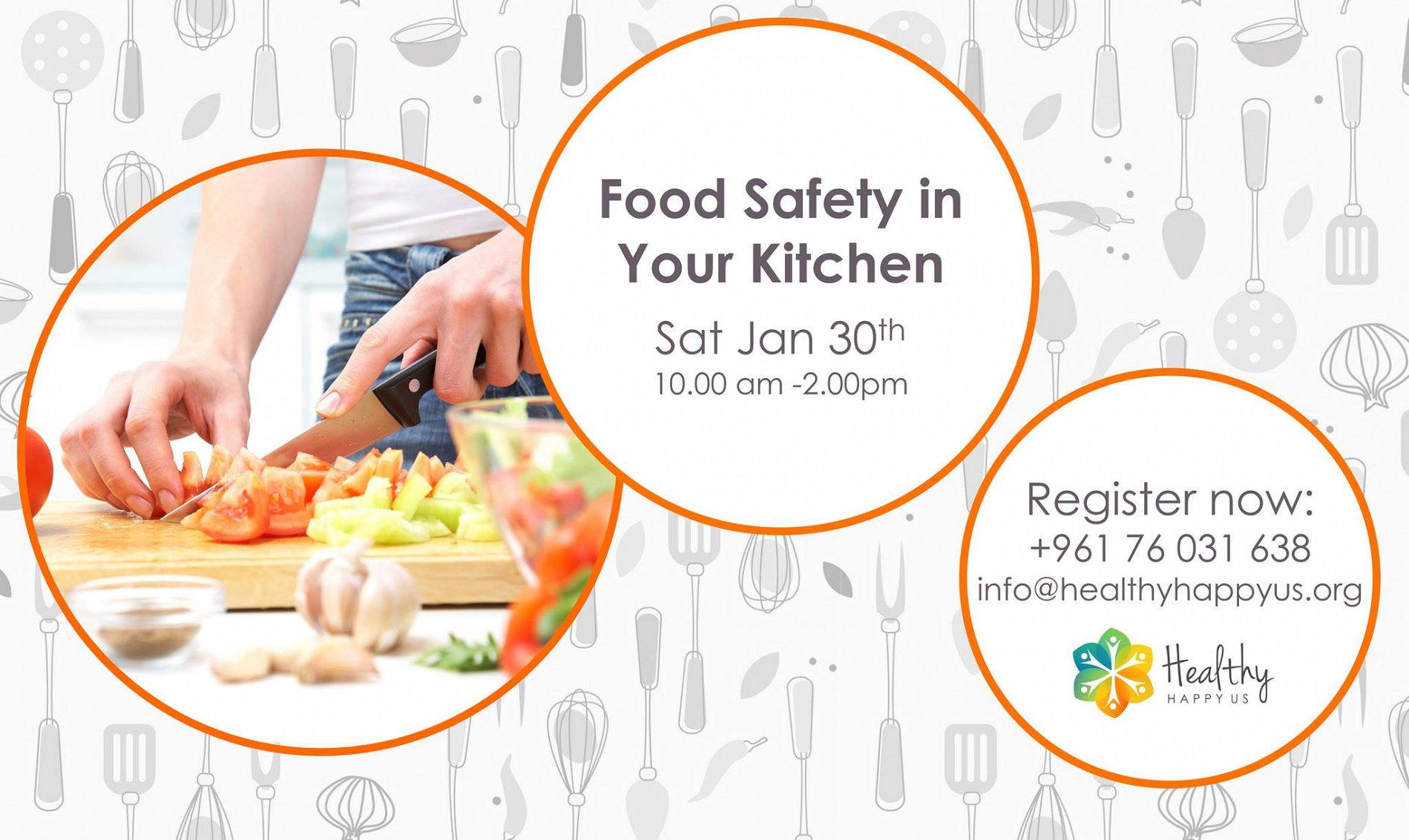 Food Safety in Your Kitchen Workshop « Lebtivity