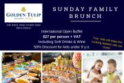 Family Sunday Brunch at Golden Tulip Galleria Hotel