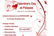 Valentine's Day at Palapas