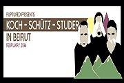 KOCH-SCHÜTZ-STUDER & PAED CONCA perform THE CABINET OF DR. CALIGARI