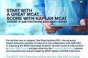 MCAT®  Kaplan course @ AUB CEC