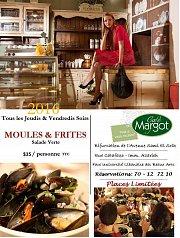 Moules et Frites - Cafe Margot