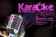Karaoke Night at Zanga Pub every Wednesday