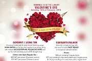 Valentine's at the Regency Palace Hotel