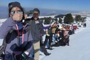 Snowshoeing at Arz Hadath el Jebbe on Tuesday, February 09, 2016 With DALE CORAZON - LEBANON EXPLORERS