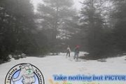 Snowshoeing in Ehden Reserve with Footprints Nature Club