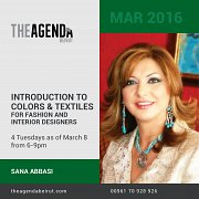 Introduction to colors and textiles for fashion and interior designers with Sana Abbas